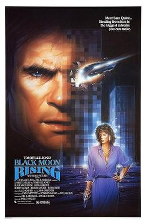 Black Moon Rising - Theatrical release poster by Steven Chorney