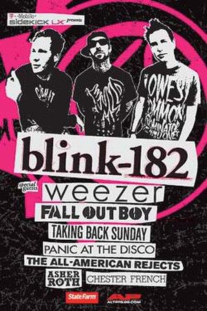 Blink-182 in Concert - Image: Blink 182 concertposter