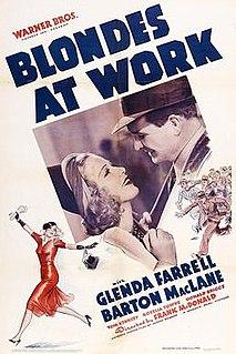 <i>Blondes at Work</i> 1938 film by Frank McDonald