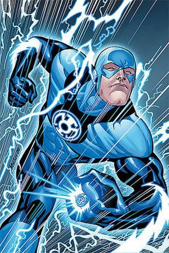 Flash (Barry Allen) - Image: Blue Lantern Flash