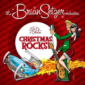The Best Of Collection – Christmas Rocks! - Image: Bso xmas rocks cover