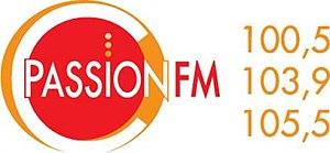 CFIN-FM - Image: CFIN Passion FM logo
