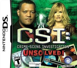 CSI: Unsolved - Image: CSI Unsolved DS