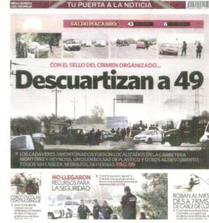 Cadereyta Jiménez massacre