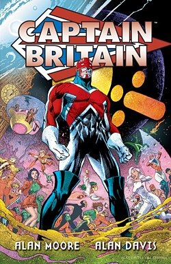 Captain Britain Superhero Wallpaper