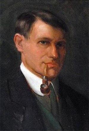 Casimir Markievicz - Self-portrait of Casimir Markievicz.