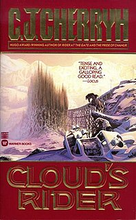 <i>Clouds Rider</i> 1996 novel by C. J. Cherryh