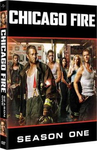 Chicago Fire (season 1) - Region 1 DVD cover art