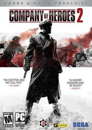 Company of Heroes 2 - Image: Company of Heroes 2 cover