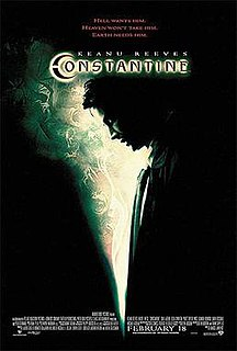 <i>Constantine</i> (film) 2005 film by Francis Lawrence