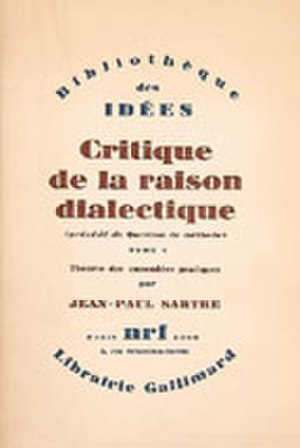 Critique of Dialectical Reason - Cover of the first edition