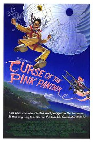 Curse of the Pink Panther - Theatrical poster by John Alvin
