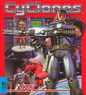 <i>CyClones</i> 1994 PC video game