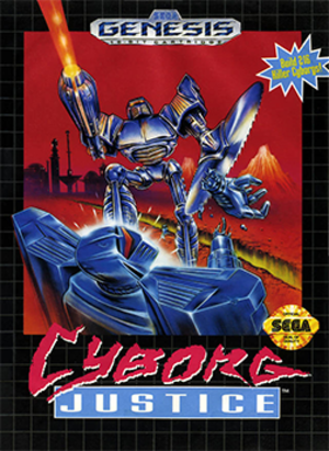 Cyborg Justice - North American cover art