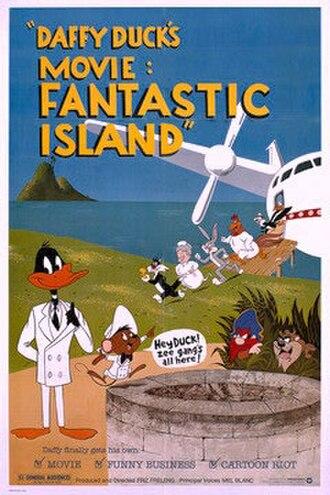 Daffy Duck's Fantastic Island - Poster