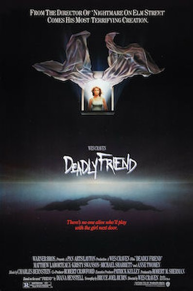 Deadly Friend (1986) movie poster