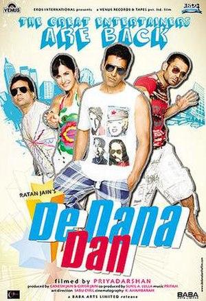 De Dana Dan - Theatrical release poster