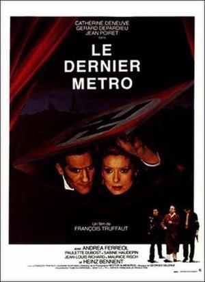 6th César Awards - Image: Dernier metro affiche