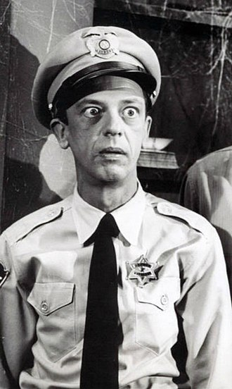 Barney Fife - Image: Don Knotts Andy Griffith Show Cropped