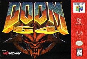 Doom 64 - North American Nintendo 64 cover art