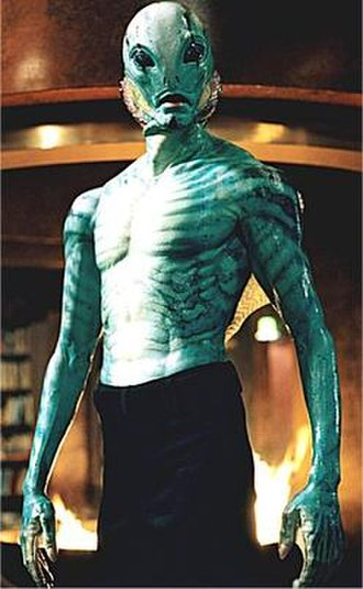 Abe Sapien - Doug Jones as Abe Sapien in Hellboy