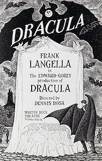 <i>Dracula</i> (1924 play) 1924 stage play