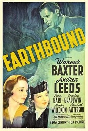 Earthbound (1940 film) - Theatrical release poster