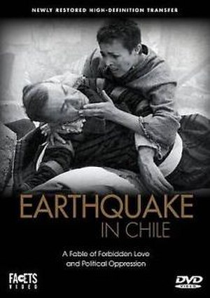 Earthquake in Chile (film) - Image: Earthquake Chile DV Dcover