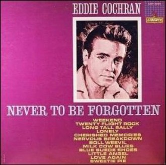 Never to Be Forgotten - Image: Eddie Cochran LP LRP3220