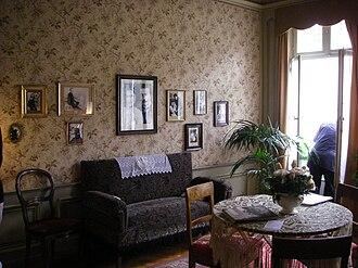 Einsteinhaus - The living room