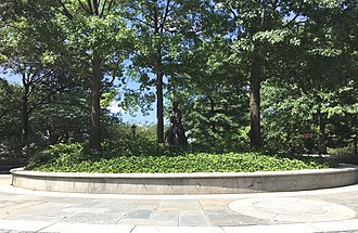 Eleanor Roosevelt Monument - Image: Eleanor Roosevelt Monument