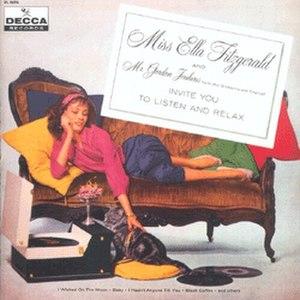 Miss Ella Fitzgerald & Mr Gordon Jenkins Invite You to Listen and Relax - Image: Ellajenk