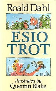 <i>Esio Trot</i> 1990 childrens book by Roald Dahl