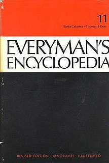 <i>Everymans Encyclopaedia</i> Encyclopaedia from 1913