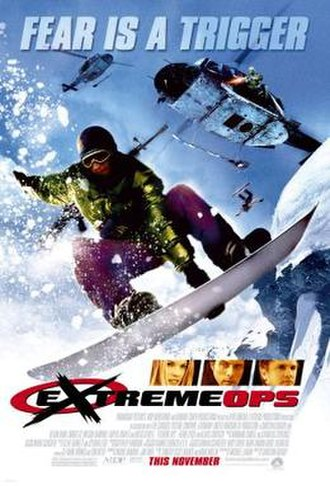 Extreme Ops - Theatrical release poster