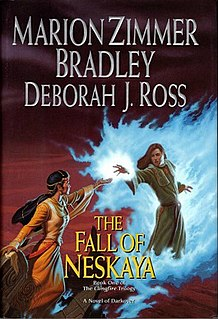 <i>The Fall of Neskaya</i> novel by Marion Zimmer Bradley