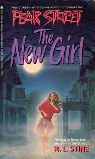 The New Girl (novel) - First edition cover of The New Girl