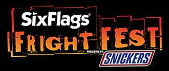 Six Flags Fright Fest - Image: Fright Fest Logo