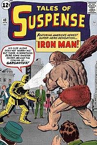 Iron Man Yellow Suit via Wikipedia.Org
