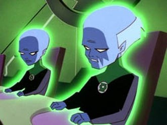 Guardians of the Universe - The Guardians of the Universe as depicted in Superman: The Animated Series.