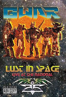 <i>Lust In Space – Live At The National</i> 2010 video by Gwar