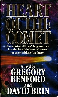 <i>Heart of the Comet</i> novel by Gregory Benford