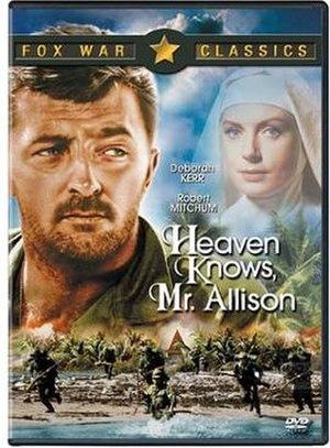 Heaven Knows, Mr. Allison - Region 1 DVD cover