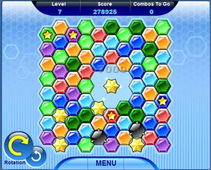 Hexic - Hexic on MSN Games.