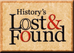 History's Lost & Found - Image: History's Lost & Found logo