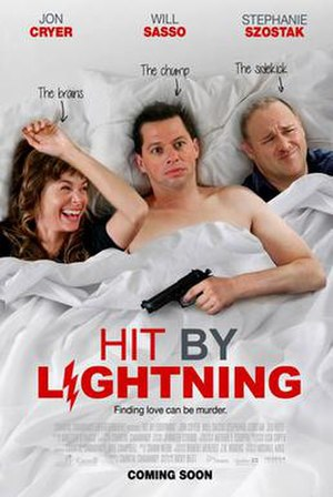 Hit by Lightning - Image: Hit By Lightening film poster
