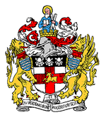 The arms granted in 1906
