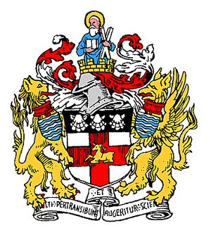 Metropolitan Borough of Holborn - The arms granted in 1906