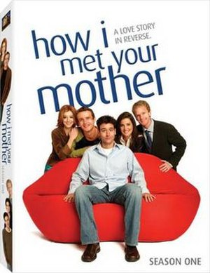 How I Met Your Mother (season 1) - Image: How I Met Your Mother Season 1 DVD Cover