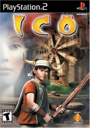 Ico - The cover used for the North American release of Ico. It has been called one of the worst video game covers, in contrast to the cover used in other regions, and considered a contribution to weak sales of the game in North America.